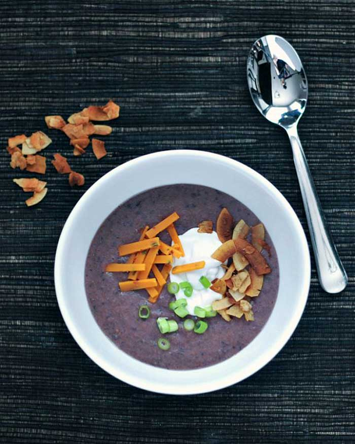 Easy Blendtec and Vitamix Soup Recipes That You Can Make In Any Blender Purple Potato Soup