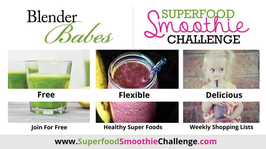 Join @BlenderBabes' Free Superfood Smoothie Challenge