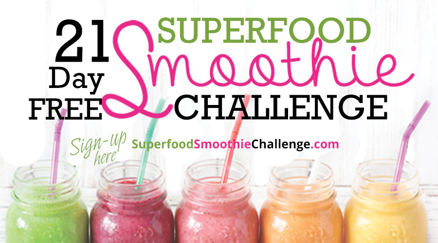 Join @BlenderBabes' FREE 21 Day Superfood Smoothie Challenge