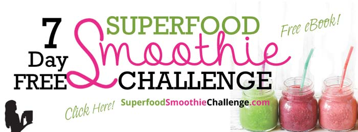 Free Superfood Smoothie Challenge by Blender Babes