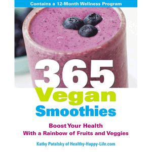 365 Vegan Smoothie Cookbook