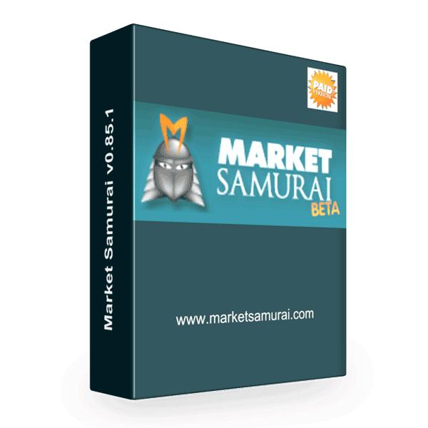 Market Samurai Keyword Search Tool