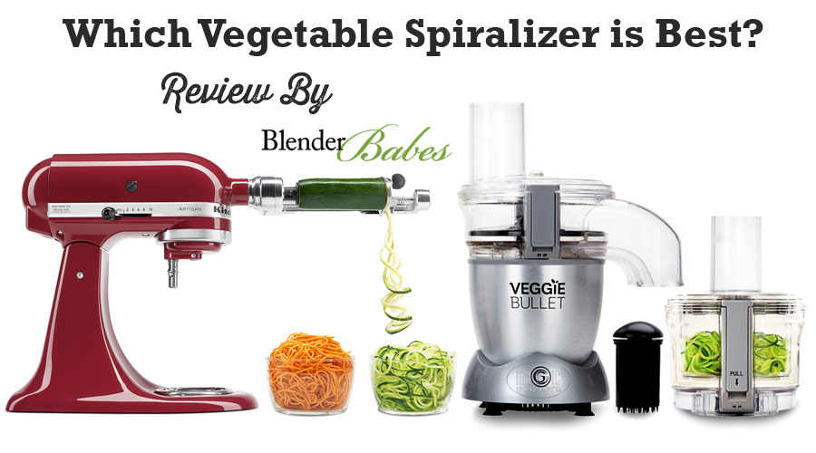 Kitchenaid Spiralizer vs Paderno vs Oster vs Veggie Bullet. Which Vegetable Spiralizer is Best?