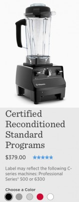 Get a Certified Reconditioned Vitamix Promo Code for Free Shipping Plus Free Gifts from @BlenderBabes
