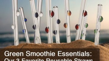 Green Smoothie Essentials - Our 3 Favorite Reusable Straws by @BlenderBabes