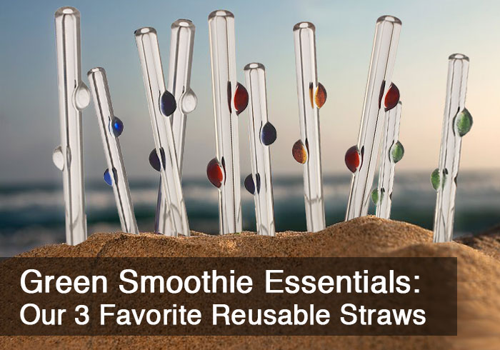 Green Smoothie Essentials – Our 3 Favorite Reusable (Sustainable!) Straws