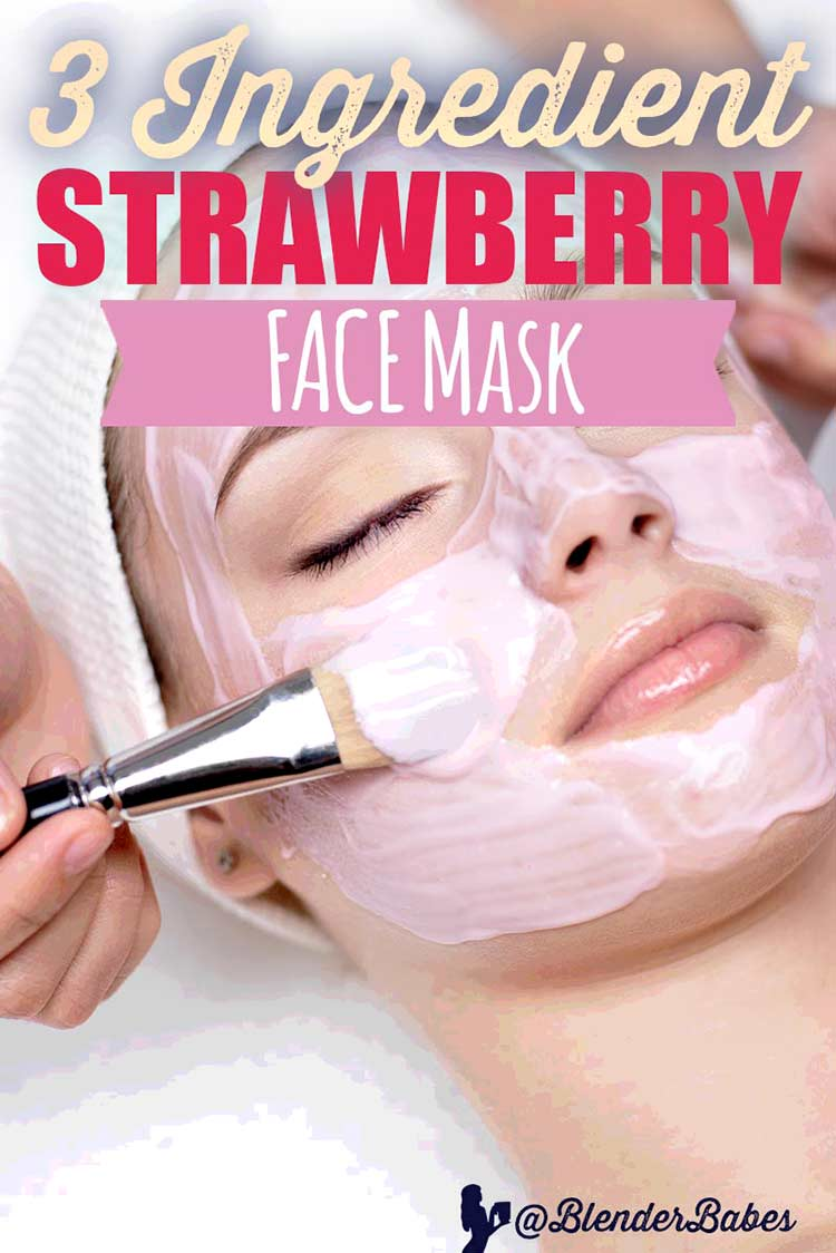 Strawberry Face Mask for All Skin Types