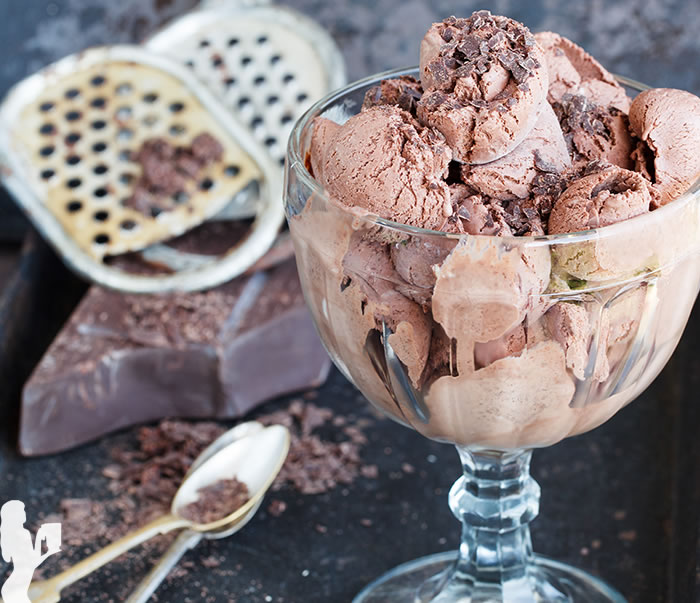 Sun Ripple Fudge Ice Cream from Dairy-Free Ice Cream Cookbook