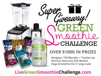 @BlenderBabes' Green Smoothie Challenge SUPER GIVEAWAY!
