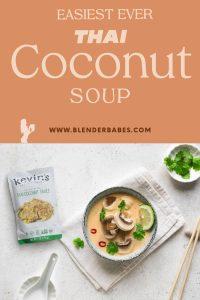 Easy Thai Coconut Soup Recipe Tom