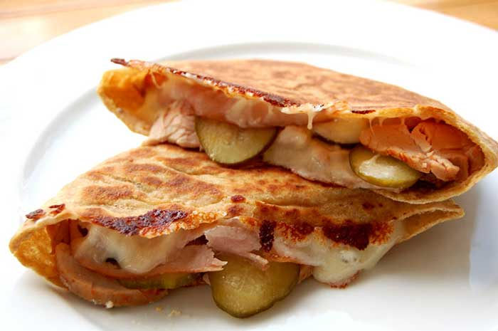 Clean Cuban Sandwich by Valerie Cogswell via @BlenderBabes
