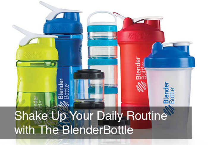 Shake Up Your Daily Routine With The BlenderBottle by @BlenderBabes