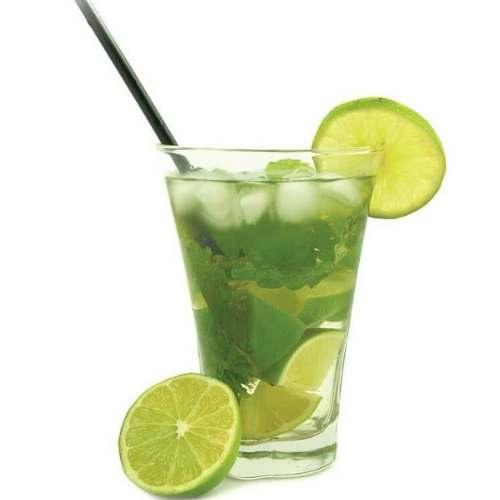 Minty Mojito Matcha Cocktail