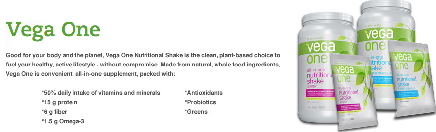 Learn More About Vega One Nutritional Shake