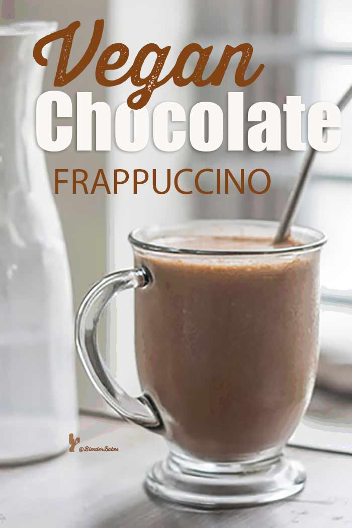 vegan chocolate frappuccino blender recipe