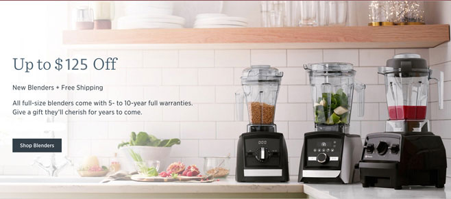 Vitamix Black Friday 2019 Holiday Sales
