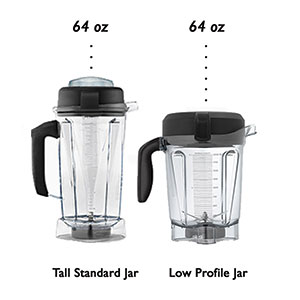 Which Vitamix 64 oz Container is better