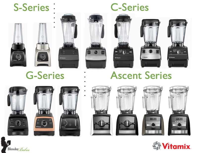 Which Vitamix to Buy Vitamix Containers - #1 Vitamix Blenders Review by @BlenderBabes
