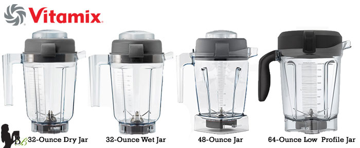 Blendtec vs Vitamix 780 Review Vitamix Containers