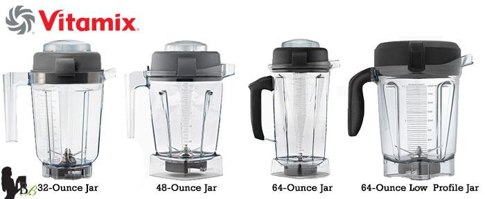 Blendtec vs Vitamix Review: Vitamix Jars