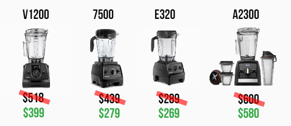 Vitamix sales and deals November 2019