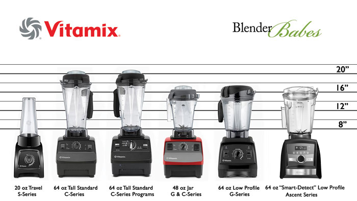 Which Vitamix to Buy Vitamix Series Containers Height - #1 Vitamix Blenders Review by @BlenderBabes