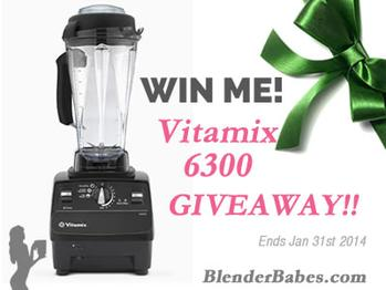 Vitamix6300Rafflecopter
