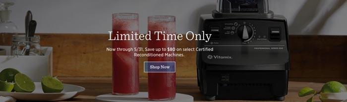 Refurbished Vitamix Sale no coupon code required
