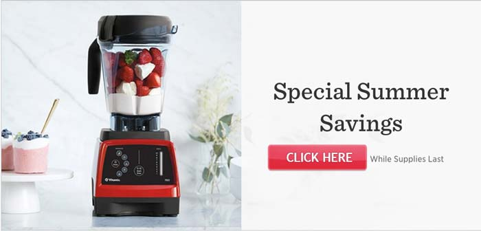 vitamix sale no coupon code required - Vitamix Blenders