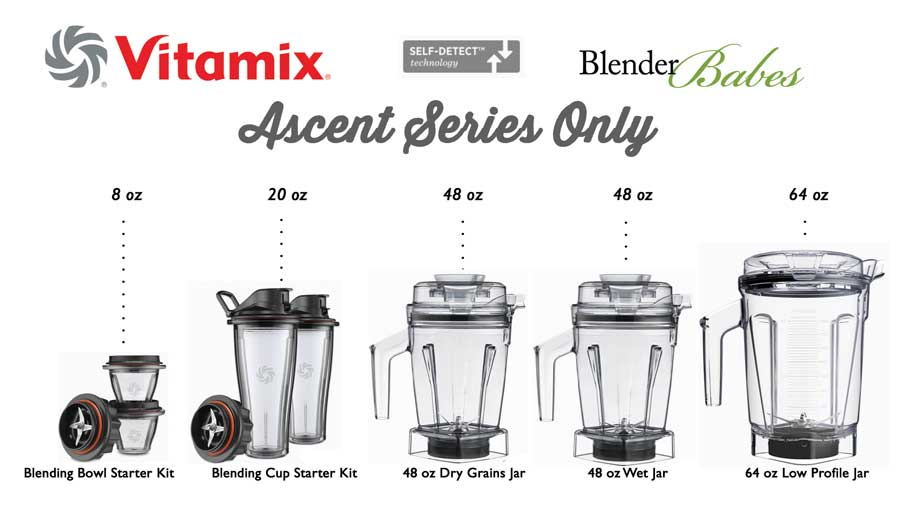 Vitamix Ascent Containers