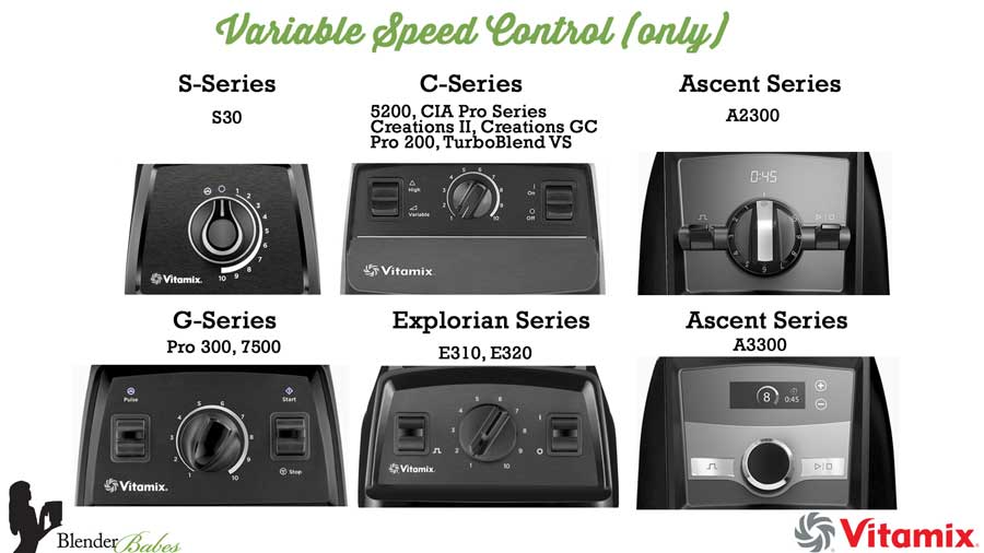 Vitamix Variable Speed blenders - Which Vitamix is Best to Buy Vitamix Review