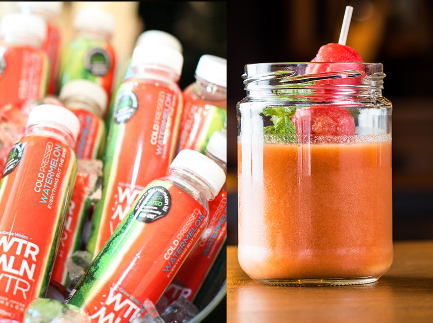 Watermelon Gazpacho Made Easy with WTRMLN WTR