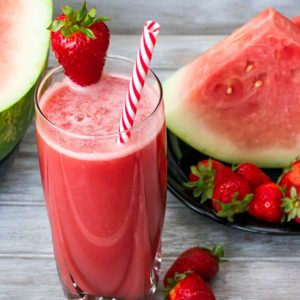 Watermelon pre workout smoothie