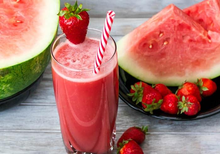 Summer Love Watermelon Pre-Workout Smoothie