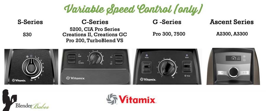Blendtec vs Vitamix Controls