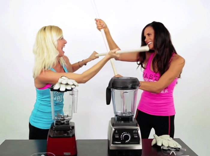 Blendtec Wildside Rebel Jar vs Vitamix Comparison Review by @BlenderBabes