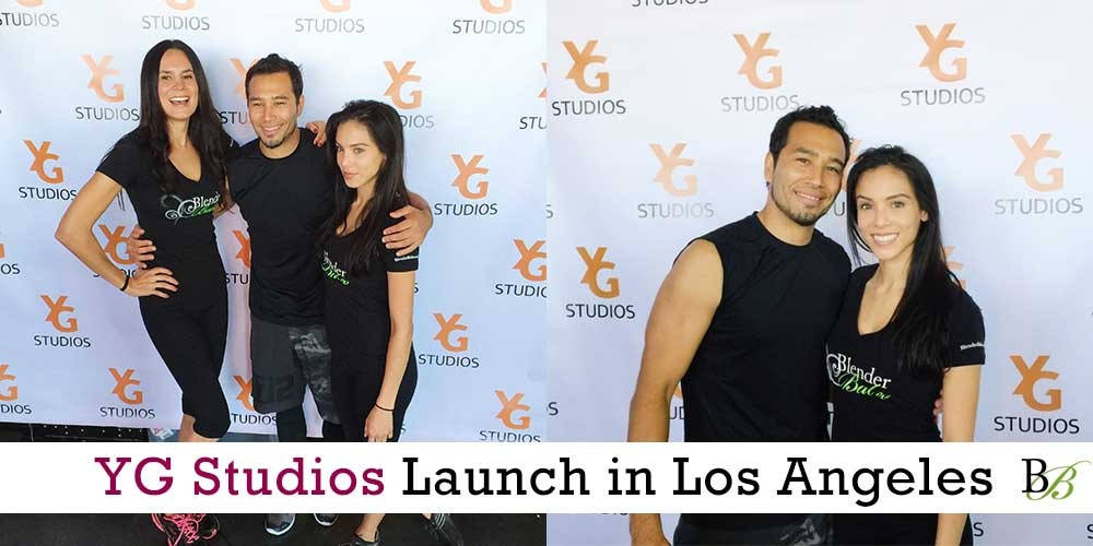 YG Studios Los Angeles and 20 Minute Body Workout with @BrettHoebel and @BlenderBabes