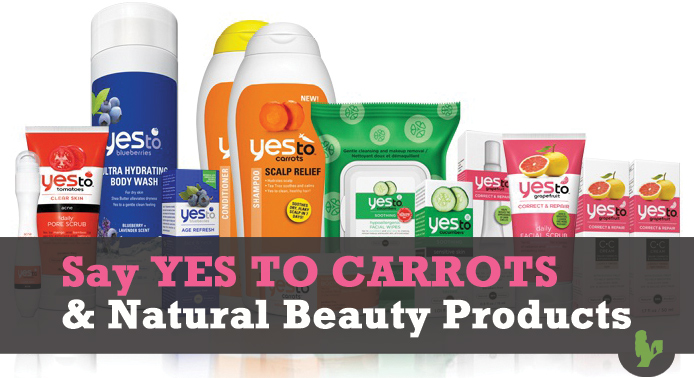 Say YES To Carrots and Natural Beauty Products!