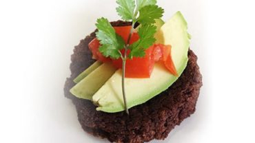 Zesty Chipotle Black Bean Cakes made in your Blendtec or Vitamix by @BlenderBabes