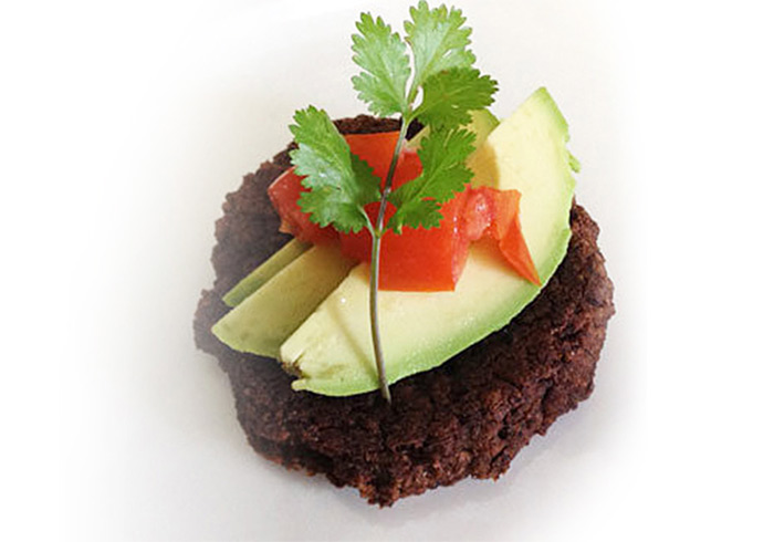Zesty Chipotle Black Bean Cakes