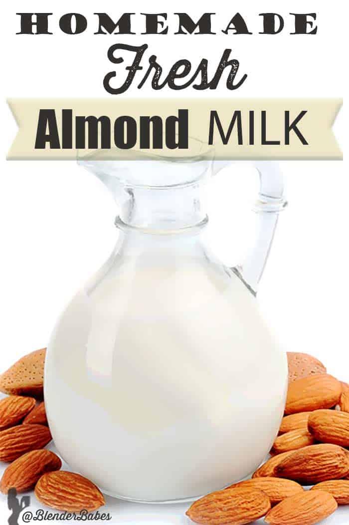 Homemade Almond Milk Blender Recipe