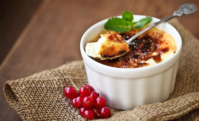 Vegan Banana Coconut Creme Brûlée from Kitchen Cures Cookbook
