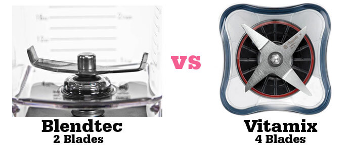 Blendtec vs Vitamix Review The Blade Difference