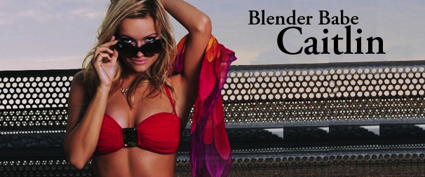 Spotlight: Blender Babe Caitlin O'Connor