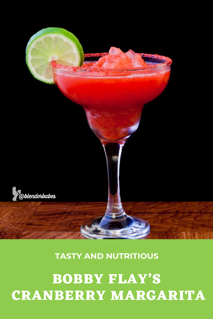 bobby flay cranberry margarita smoothie