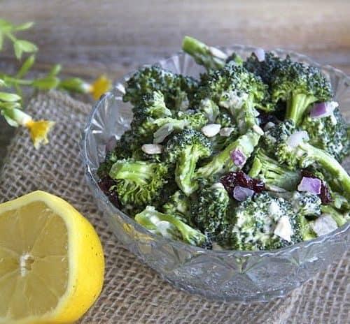 Broccoli Salad Recipe Vitamix