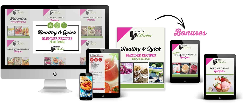 Healthy & Quick Blender Recipes eBook Bundle with Bonuses