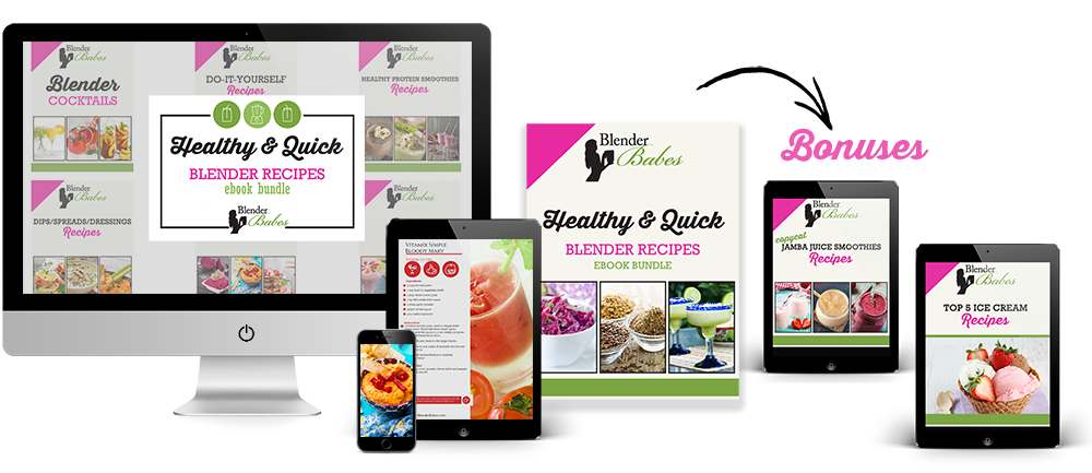 Blender Recipes eBook bundle with bonus