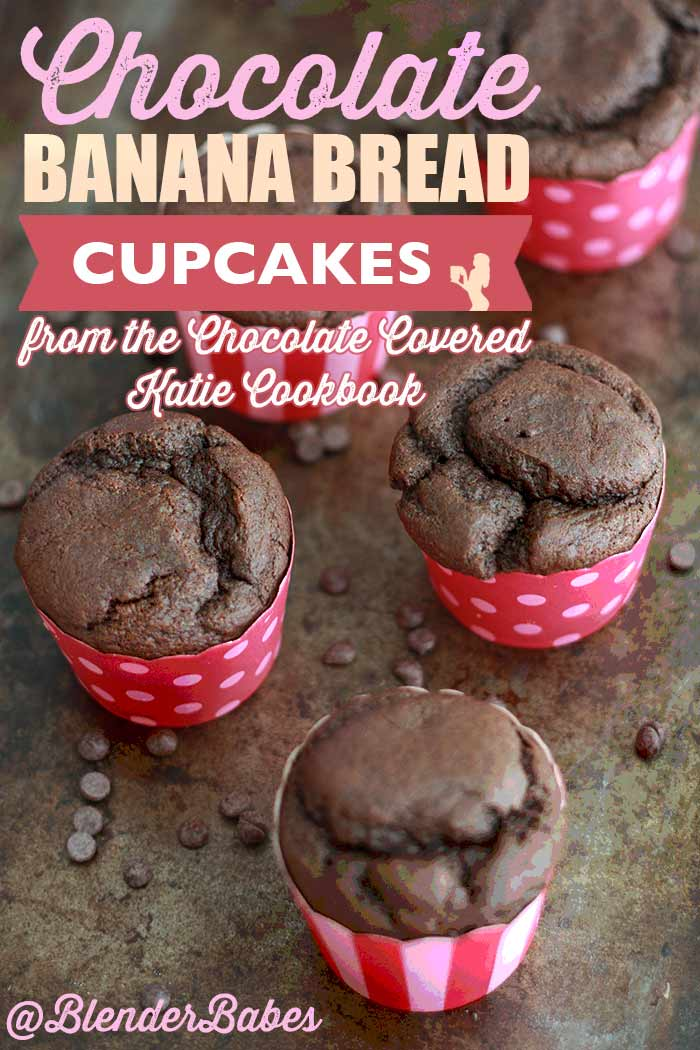 Chocolate banana bread cupcakes from chocolate covered katie chocolate banana bread cupcakes from chocolate covered katie cookbook fandeluxe Image collections