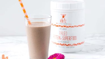Chocolate Banana Smoothie with Rootz Protein